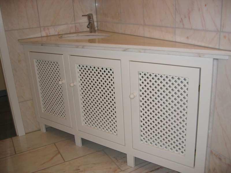 Bild 86 (Frontabdeckung im Bad zur Verkleidung von Rohren): Durch ...